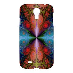 Fractal Background Design Samsung Galaxy S4 I9500/i9505 Hardshell Case