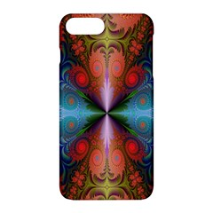 Fractal Background Design Apple Iphone 8 Plus Hardshell Case