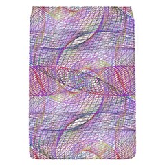 Purple Background Abstract Pattern Removable Flap Cover (s)