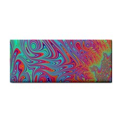Fractal Bright Fantasy Design Hand Towel