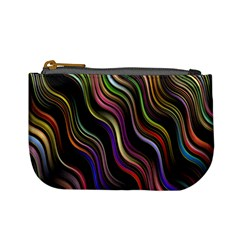 Psychedelic Background Wallpaper Mini Coin Purse