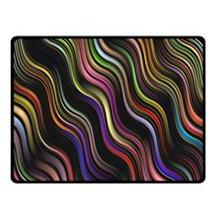 Psychedelic Background Wallpaper Fleece Blanket (small) by Samandel