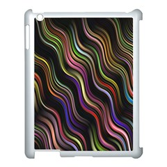 Psychedelic Background Wallpaper Apple Ipad 3/4 Case (white)