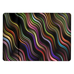Psychedelic Background Wallpaper Samsung Galaxy Tab 10 1  P7500 Flip Case