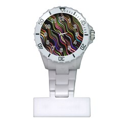 Psychedelic Background Wallpaper Plastic Nurses Watch