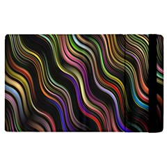 Psychedelic Background Wallpaper Apple Ipad Pro 12 9   Flip Case