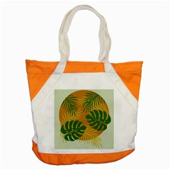 Leaf Leaves Nature Green Autumn Accent Tote Bag by Samandel