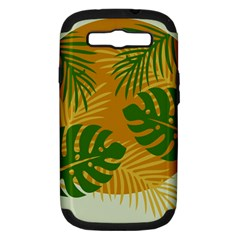 Leaf Leaves Nature Green Autumn Samsung Galaxy S Iii Hardshell Case (pc+silicone)