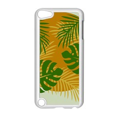 Leaf Leaves Nature Green Autumn Apple Ipod Touch 5 Case (white)