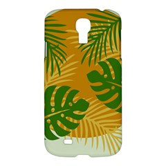 Leaf Leaves Nature Green Autumn Samsung Galaxy S4 I9500/i9505 Hardshell Case by Samandel