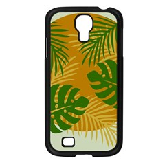 Leaf Leaves Nature Green Autumn Samsung Galaxy S4 I9500/ I9505 Case (black) by Samandel