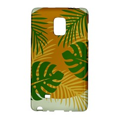 Leaf Leaves Nature Green Autumn Samsung Galaxy Note Edge Hardshell Case