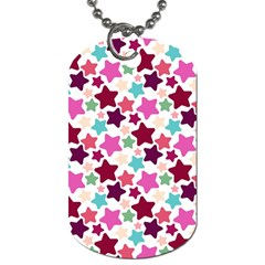 Stars Pattern Dog Tag (two Sides)