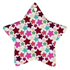 Stars Pattern Star Ornament (two Sides)