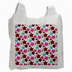 Stars Pattern Recycle Bag (one Side)