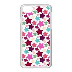 Stars Pattern Apple Iphone 8 Seamless Case (white)