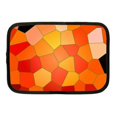 Background Pattern Of Orange Mosaic Netbook Case (medium)