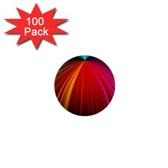 Background Color Colorful Rings 1  Mini Magnets (100 Pack)