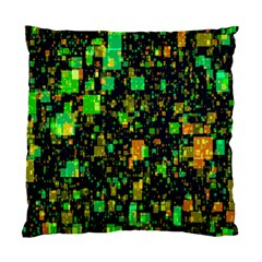 Squares And Rectangles Background Standard Cushion Case (two Sides)