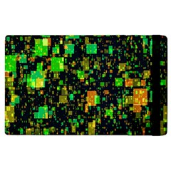 Squares And Rectangles Background Apple Ipad 3/4 Flip Case