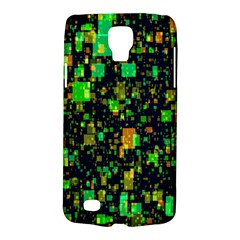 Squares And Rectangles Background Samsung Galaxy S4 Active (i9295) Hardshell Case
