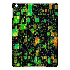 Squares And Rectangles Background Ipad Air Hardshell Cases by Samandel