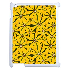 Texture Flowers Nature Background Apple Ipad 2 Case (white)