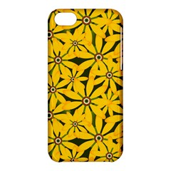 Texture Flowers Nature Background Apple Iphone 5c Hardshell Case by Samandel