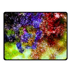 Splashes Of Color Background Fleece Blanket (small)