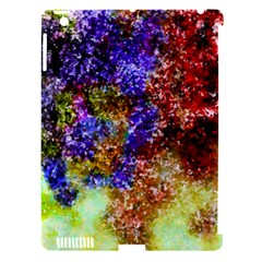 Splashes Of Color Background Apple Ipad 3/4 Hardshell Case (compatible With Smart Cover)