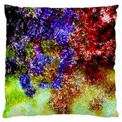 Splashes Of Color Background Large Cushion Case (one Side)