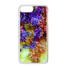Splashes Of Color Background Apple Iphone 8 Plus Seamless Case (white)