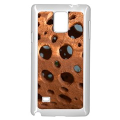 Texture Pattern Wallpaper Background Pattern Holes Samsung Galaxy Note 4 Case (white)