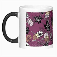 Beautiful Floral Pattern Background Morph Mugs