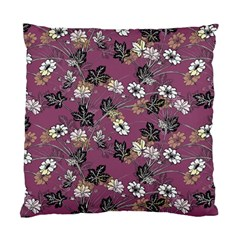 Beautiful Floral Pattern Background Standard Cushion Case (two Sides)