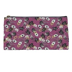 Beautiful Floral Pattern Background Pencil Cases
