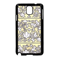 Floral Pattern Background Samsung Galaxy Note 3 Neo Hardshell Case (black) by Samandel