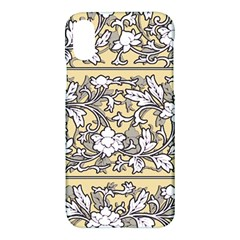 Floral Pattern Background Apple Iphone X Hardshell Case