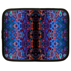 Kaleidoscope Art Pattern Ornament Netbook Case (xxl)