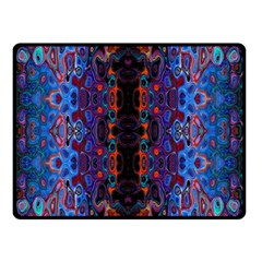 Kaleidoscope Art Pattern Ornament Double Sided Fleece Blanket (small)