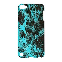 Blue Etched Background Apple Ipod Touch 5 Hardshell Case