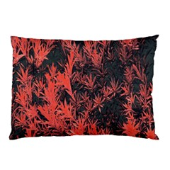 Orange Etched Background Pillow Case
