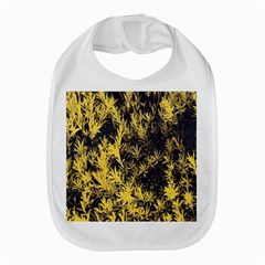 Artistic Yellow Background Bib