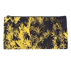 Artistic Yellow Background Pencil Cases