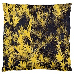 Artistic Yellow Background Large Cushion Case (one Side)