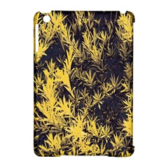 Artistic Yellow Background Apple Ipad Mini Hardshell Case (compatible With Smart Cover)