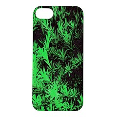 Green Etched Background Apple Iphone 5s/ Se Hardshell Case