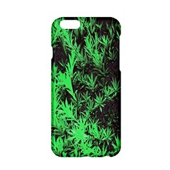 Green Etched Background Apple Iphone 6/6s Hardshell Case