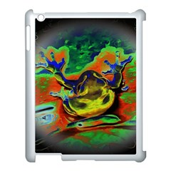 Abstract Transparent Background Apple Ipad 3/4 Case (white) by Samandel