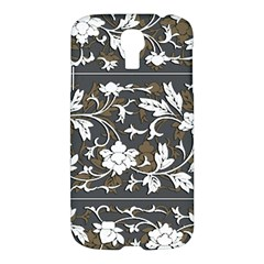 Floral Pattern Background Samsung Galaxy S4 I9500/i9505 Hardshell Case